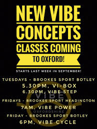 vibe oxfordshire on twitter new cles starting next week brookessport activelife dontjustride feelthevibe oxford students fitness vibecycle