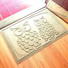 ll bean outdoor mats rug stylish rugs and doormats owls water hog waterhog mat cleaning instructions