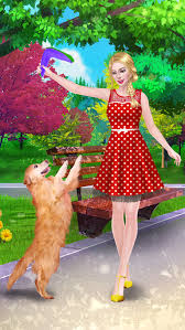 fun with pets f beauty salon day spa makeup dressup makeover game