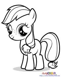 Small Picture My Little Pony Applejack Coloring Pages GetColoringPagescom