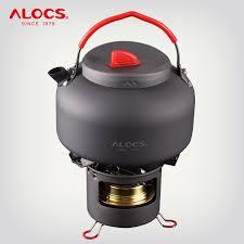 <b>ALOCS</b> K04PRO Outdoor <b>Camping 1.4L Water</b> Kettle Teapot ...