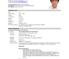 Resume Format For Company Job Singular Official Resume Format Download Formal Free Templates You 96