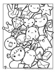 Cute unicorn coloring page from unicorn category. Kawaii Printable Coloring Pages Woo Jr Kids Activities