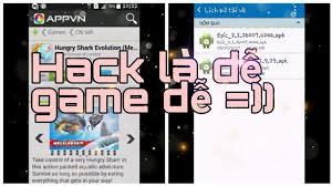hưỡng dẫn Hack game trên appvn android - YouTube