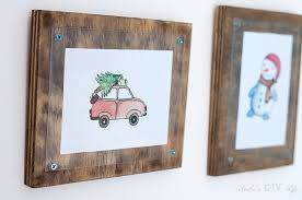 how to make a simple photo frame