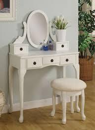 White bedroom vanity – Bedroom at Real Estate
