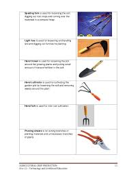 hand tools list name. tools and their names product name garden no intro agricultural k to 12 crop production learning hand list a
