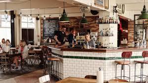 Bar Interiors Design Painting