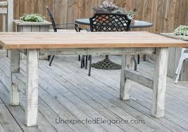 diy outdoor table. EASY DIY Outdoor Table-1-9.jpg Diy Table B