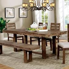farmhouse furniture style. Overstock Country Farmhouse Plank-style Dining Table Photo Furniture Style