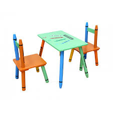crayon childrens table and 2 chairs set childrens desks desks furniture storage