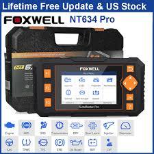 <b>Foxwell</b> NT634Pro Four Systems <b>OBD2</b> Diagnostic Tool ABS SRS ...