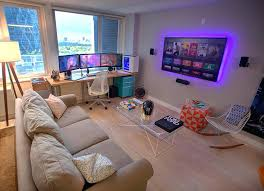 bedroom comely excellent gaming room ideas. Video Game Bedroom Ideas Adding A Corner To Living Room  . Comely Excellent Gaming