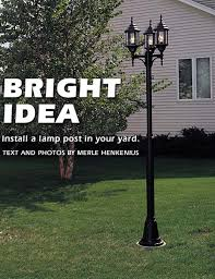 how to install a lamp post in your yard Post Light Wiring Diagram Post Light Wiring Diagram #24 lamp post light sensor wiring diagram