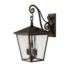 trellis extra large outdoor wall sconce by hinkley lighting