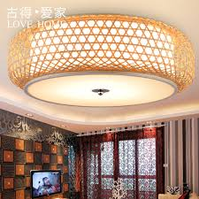 chinese bamboo lantern restaurant lights past rattan weave classical minimalist living room bedroom lamp chandelier southeast asia in on