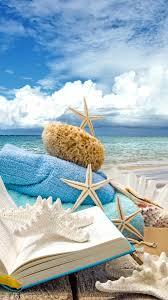 iphone 6 wallpaper summer. Delighful Wallpaper Summer Beach Book Seashells Sea Stars IPhone 6 Plus HD Wallpaper  For Iphone