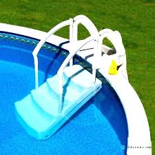 in ground pool ladders brass anchor for stainless steel ladder above handrails