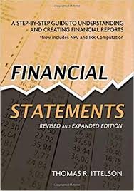 Components Of An Income Statement Awesome Financial Statements A StepbyStep Guide To Understanding And