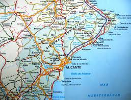 Where is Benidorm on map - Spain | Travel in Spain | Pinterest ...
