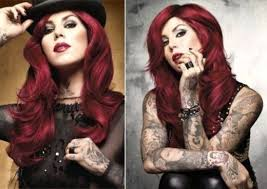 kat von d hair red hair google search
