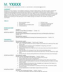 Resume For Child Care Job Best of 24 Daycare Resume Examples Childcare Resumes LiveCareer