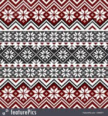 Nordic Pattern Awesome Abstract Patterns Nordic Snowflake Pattern Stock Illustration