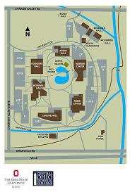 Ohio State University Horseshoe Stadium Seating Chart Campus Map The Ohio State University At Newark