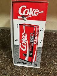 Coca Cola Vending Machine Radio Fascinating 48 COCACOLA VENDING Machine AMFM Transistor Radio BNIB