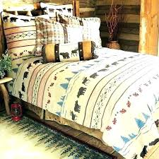 cabin style bedding design country sheet sets