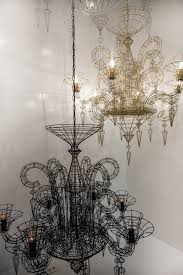 wire chandeliers