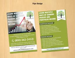 Build Your Own Flyer Entry 26 By Dinesh0805 For Design A Flyer And Banner For Cash
