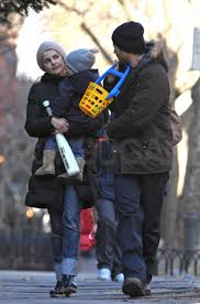 Shane Deary Photo Of Keri Russell River Deary And Shane Deary Walking Around