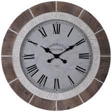white wood wall clock hobby lobby