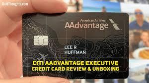 citi aadvane executive credit card