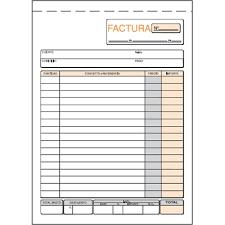 Talonario Facturas 4 T 6 Papeleria La Mayor Material De Oficina