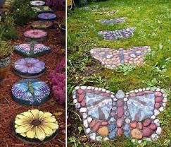 Terrace and Garden: Animal DIY Garden Rock And Stones - DIY Stones