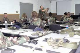 STAFF Sergeant (SSGT) Merle Hudson, Combat Arms instructor, 355th Security  Forces Squadron, Davis-Monthan (D-M) Air