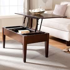 ... Coffee Table, Stylish Brown Rectangle Modern Wood Pull Out Coffee Table  With Storage Designs: ... Home Design Ideas