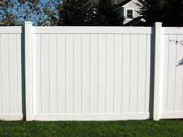 White Vinyl Fencing Panels Design Ideas Inspiration Vinyl intended