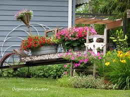 flower garden ideas with old wheelbarrow elegant where to find me and my garden junk of