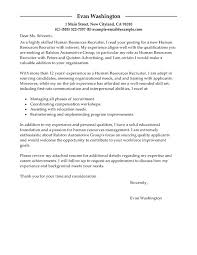 Cover Letter Design   Monitoring Human Resources Trends Crucial