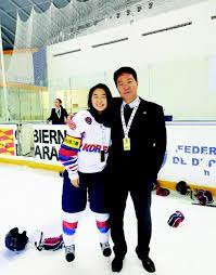 Kim '19 Plays for Korean Hockey Team - The Hotchkiss Record