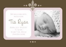 Sample Baby Announcement Example Birth Announcements Helom Digitalsite Co Newborn Baby