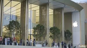 apple dubai mall officially opens as