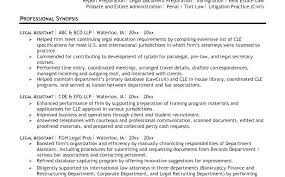 Attorney Resume Examples Legal Resume Examples The Proper Sample Law ...