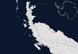 antarctic ice sheet growing a crack in an antarctic ice shelf grew 17 miles in the last two