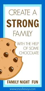 family home evening ideas for young adults. a fun family night on how to create strong family...with the home evening ideas for young adults n