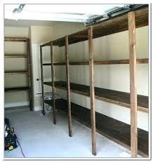 basement storage shelves space
