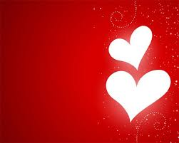 Free Vector | <b>Valentines day glowing</b> hearts red design